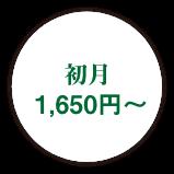初月 1,650円〜