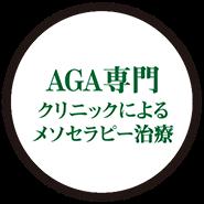 AGA専門 クリニックによる メソセラピー治療